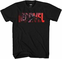Marvel Logo The Punisher Avengers  Adult Tee Graphic T-Shirt for Men Tshirt