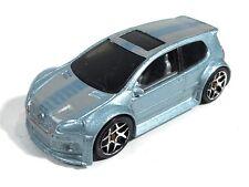 Hot Wheels 2008 Volkswagen Golf GTI Metalflake Light Blue HW Team: Volkswagen