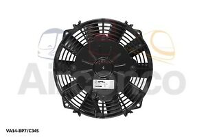 "Spal Axial Fan, VA14-BP7/C-34S, 24v (Push) 7.5"" (190mm) - Genuine Product!"