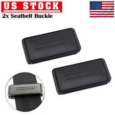2 X Car Seat Belt Clip Safety Clamp Adjuster Buckle Improves Comfort Universal