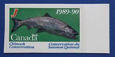 Canada (CNSC01J) 1989 Salmon Conservation Stamp (MNH)