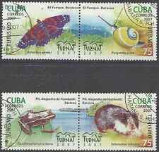 Timbres Animaux 4493/6 o lot 19938