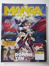 Manga Max #2 1999 Anime Tekken Slayers Kuni Tomita Donnie Yen & More (PG331)