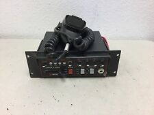 Unitrol Touchmaster TM4 siren amplifier and microphone #1