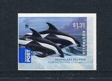 2009 Dolphins of the Australian Coastline - $1.35  International Booklet Stamp