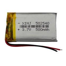 3.7V 500 mAh Polymer Li battery Li-po 502540 For GPS Mp3 Bluetooth headset pen