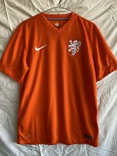 Netherlands Football Jersey Nike 2014 World Cup FIFA Size M Holland Soccer Kit