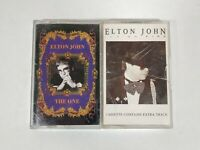 Lot of 2 Elton John Cassette Tapes - The One & Ice On Fire