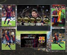 Lionel Messi Signed Barcelona Photo Poster Memorabilia Limited Edition of 250 -P
