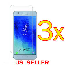 3x Clear Screen Protector Guard Film For Samsung Galaxy J3 Star / Sol 3  (2018)