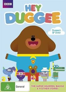 Hey Duggee Squirrel Badge DVD 2016 Brand New & Sealed