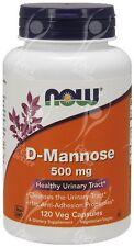 Now Foods D-Mannose - 500mg x120caps cápsulas