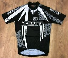 Scott black cycling jersey size M