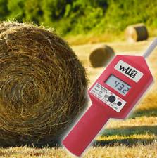 WILE 27 MOISTURE METER Probe Baler Silage Hay Straw Bale Bales Forage