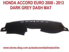 DASH MAT, DASHMAT, DASHBOARD COVER FIT HONDA ACCORD EURO  2008-2013 DARK GREY