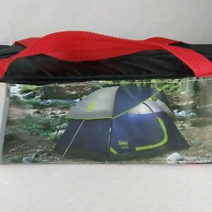 Coleman Sundome 2-person Tent WeatherTec Wind & Rain Tested w/ Carrying Case New