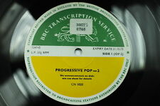 BBC Transcription Disc Top Pops LED ZEPPELIN FREE NICE KING CRIMSON T REX POP 2