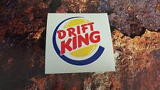 DRIFT KING JDM VINYL DECAL STICKER 7-10 year vinyl VW CAMPER VAN