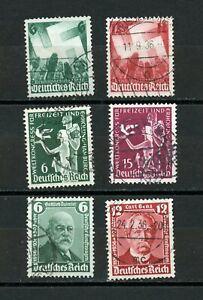 Briefmarken DR 1936 3 Sätze