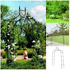Rose Gothic Arbor Trellis Home Yard Garden Lawn Backyard Path Arch Archway New