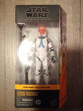 """332nd AHSOKA'S CLONE TROOPER Hasbro Star Wars Black Series 6"""" Walmart Figure MIB"""