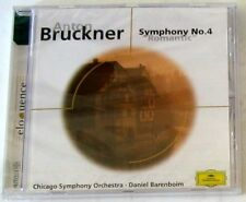 A. BRUCKNER-Symphony 4, Psalm 150-BARENBOIM-CD NEW UNPLAYED