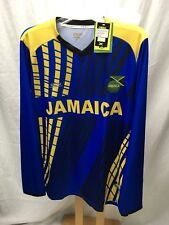 Orro Jamaica Dry Fit Long Sleeve Royal Yellow Sports Jerset Shirt Men's XL