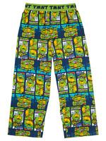 Boys Lounge Pants Pyjama Bottoms Teenage Mutant Ninja Turtles 3-12 Years