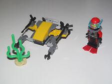 Lego ® City Minifig Figurine Plongeur + Sous Marin + Plante Aquatique NEW
