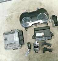 Jaguar XF X250 08-16 ECU Kit With Key 90kms CX23-12C520 8G9N-19G481 CX23-14B476