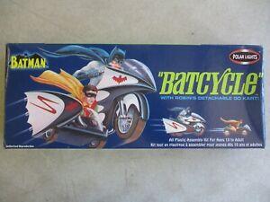 2003 BATMAN BATCYCLE POLAR LIGHTS MODEL KIT #6902 IN ORIGINAL BOX