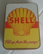 Shell Fill up from the pump Licensed Keepsake TinTrinkets Workshop Tobacco Mints