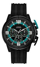 GUESS MEN'S APOLLO CHRONOGRAPH WATCH, W1115G3, NEW W/TAGS IN GUESS BOX
