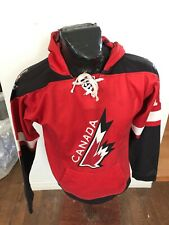 MENS Small Hockey Pullover Hoodie Pouch Pocket Nations Cup Michigan Team Canada