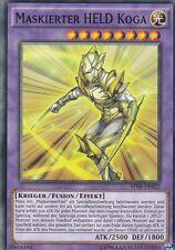 YU-GI-OH Maskierter Held Koga Common AP08-DE022