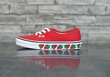 vans authentic Strawberry Tape Red VN0A37EMMM41 UK 4