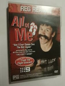 Reg Reagan All Of Me DVD Channel Nine 9 Rugby The Footy Show VERY GOOD CONDITION