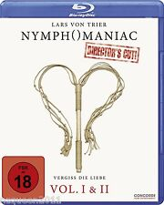 Nymphomaniac Vol. I & II [Blu-ray] [Director's Cut] [Blu-ray]* NEU & OVP *