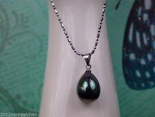 Liebe & Herzen-Halsketten mit echten Perlen