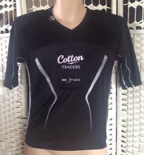 """Mens black cotton traders bionic padded sports top size M 36"""""""