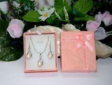 Perlen Modeschmuckstücke mit Strass für Damen