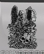 Angel Death Reaper Skull Tailgate Hood Window Decal Vehicle Truck Car Vinyl Wing
