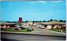 EVANSVILLE, Indiana  IN   GREER MOTEL & Restaurant  c1950s Roadside    Postcard