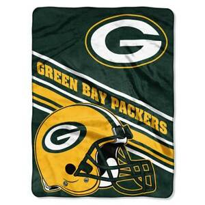 Green Bay Packers Royal Plush Blanket 60 x 80