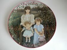 """Sisters Share the Little Things Plate Chantal Poulin Kindred Moments 7 3/4"""""""