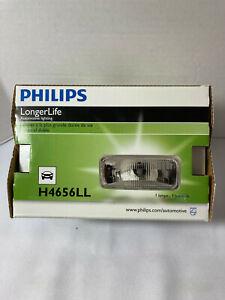 New Philips H4656LL LongerLife Headlamp C-6 12V 35W High Low Beam