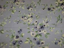 10.5 yrds 5th Avenue Covington decorator drapery fabric purple lavendar floral