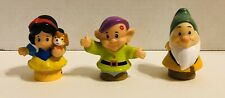 Fisher Price Little People Disney Princess Snow White, Dopey and Bashful Dwarf