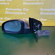 VAUXHALL VECTRA MK2 (C) 02-09 PASSENGER SIDE FRONT ELECTRIC WING MIRROR (SILVER)