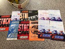 BRISCA F1 Stock Car Sheffield Programmes x 11